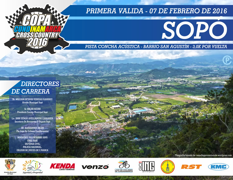 Copa Cundinamarca Cross Country 2016